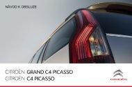 Návod k obsluze vozu Citroën C4 Grand Picasso