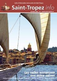 Numéro 2, octobre à décembre 2008 (1,85Mb - Saint-Tropez