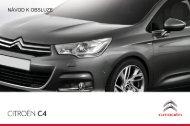 Návod k obsluze vozu Citroën C4 new (01