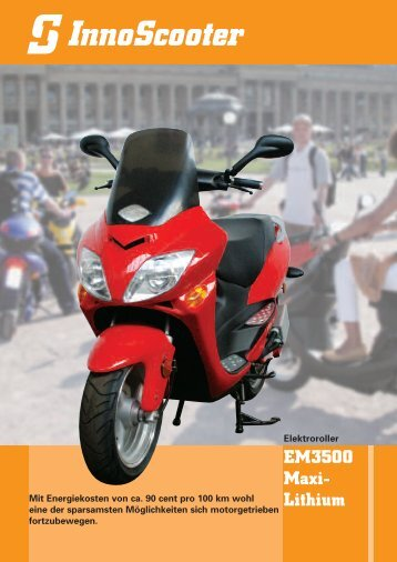 EM3500 Maxi- Lithium - InnoScooter