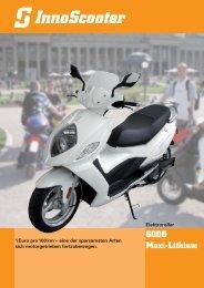InnoScooter EM6000-Maxi-Lithium