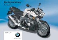 Bedienungsanleitung - K 1300 R - BMW-K-Forum.de