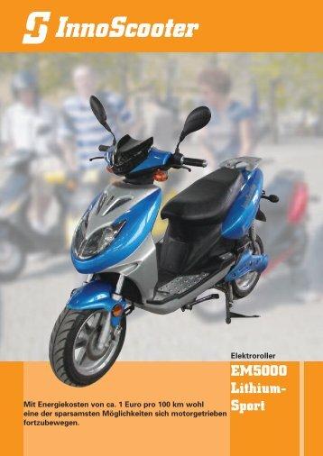 EM5000 Lithium- Sport - InnoScooter