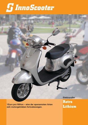 RETRO-Lithium - InnoScooter