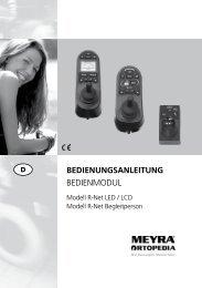 BEDIENUNGSANLEITUNG Bedienmodul - Meyra