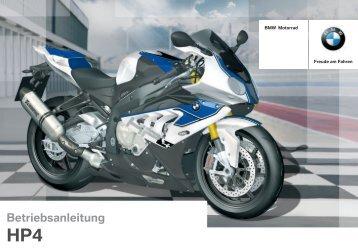 Betriebsanleitung - BMW S1000RR