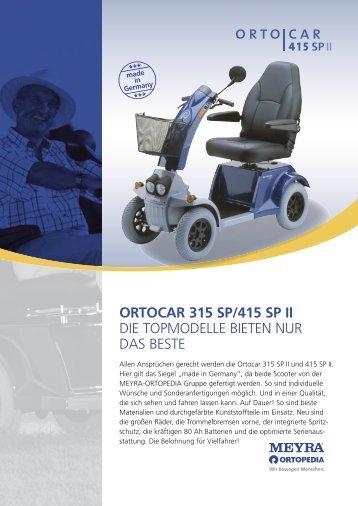 ortocar 315 sp/415 sp ii