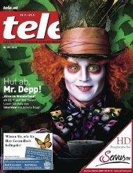 Hut ab, Mr. Depp! - Tele.at
