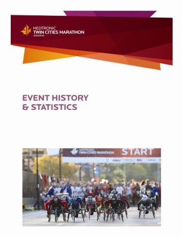 Event History & Statistics Supplement - Twin Cities Marathon
