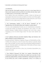 Schulskifahrt nach Hochhäderich: Häufig gestellte Fragen 1. Zur ...