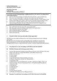 Information für den Anwender ECURAL® Fettcreme 1 mg/g ... - MSD