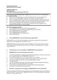 Information für den Anwender DIPROSONE® Creme 0,64 mg ... - MSD