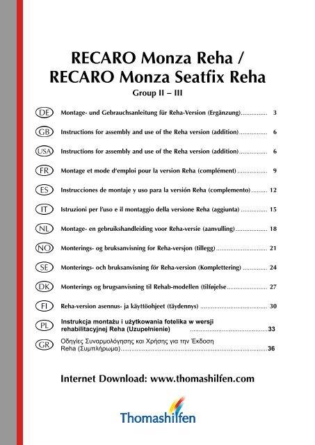 dc0a74f6e7 RECARO