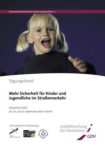 Tagungsband des Kindersymposiums - Unfallforschung der ...