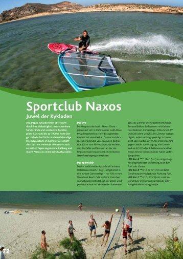 Sportclub Naxos Juwel der Kykladen - wb-agent