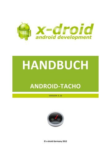 ManualAndroidSpeedometer_de.pdf - x-droid.de
