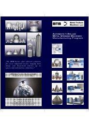 Manufacturing Program - MTM Metal Technic Machines GmbH