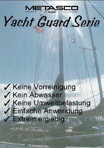 Gelcoat und lackierte Flächen - Metasco GmbH