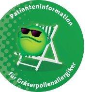 Gräserpollenallergie - Stallergenes