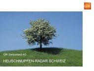 Heuschnupfenradar - GfK Switzerland