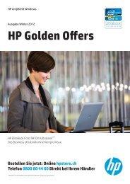 HP Golden Offers Winter 2012 - Hewlett-Packard - HP