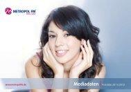 Mediadaten Preisliste 2011/2012 - Metropol FM