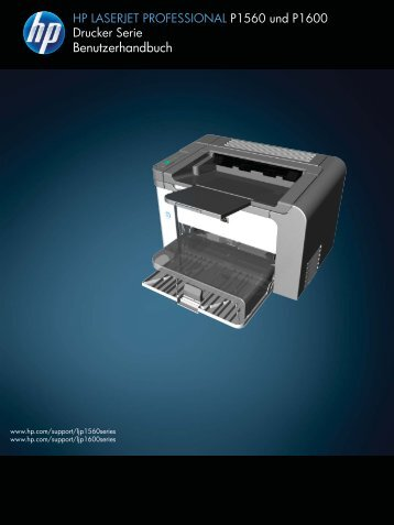 HP LASERJET PROFESSIONAL P1560 and P1600 Printer series ...