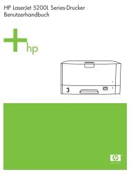 HP LaserJet 5200L User Guide - DEWW