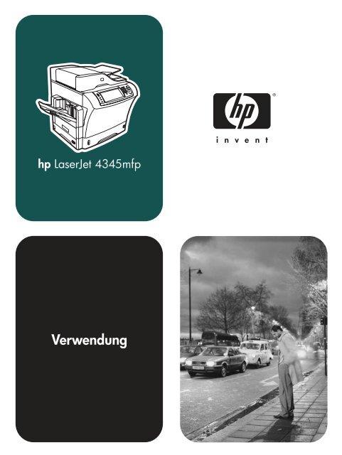 HP LaserJet 4345mfp Series - User Guide - DEWW - Kopiererhaus.de