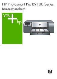 HP Photosmart Pro B9100 Series