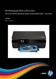 HP Photosmart 5515 e-All-in-One