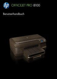 HP Officejet Pro 8100 ePrinter - DEWW - Inmac