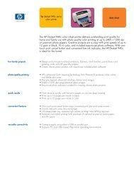 Hp Deskjet 940c Series Color Printer - HP Home & Home Office