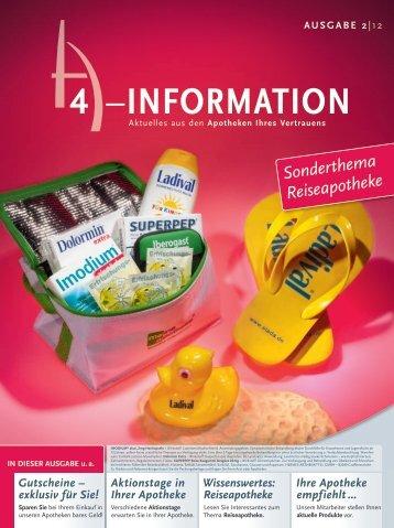 Flyer Reiseapotheke 02/2012 - Offizin 24