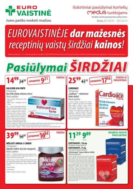 kokių vitaminų negalima vartoti esant hipertenzijai