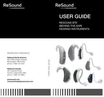 ziga zg80 user guide resound rh yumpu com ReSound Hearing Aid Accessories ReSound Hearing Aid Accessories