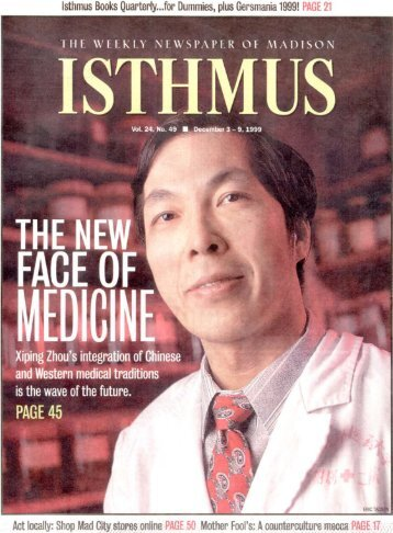 ISTHMUS - Dr. Zhou's Acupuncture and Pain Management Clinic