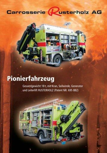 Pionierfahrzeug Carrosserie Rusterholz AG