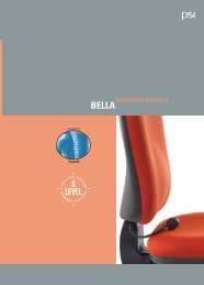 PSi - BELLA 4pp A4 Brochure - Office Chairs