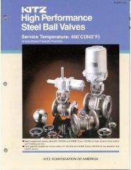 High Performance Steel Ball Valves - AIV, Inc.