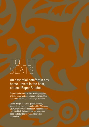 TOILET SEATS - Newtrend Bathrooms