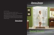 Safety Shower Sell Sheet - American Standard ProSite