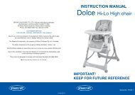 4001411- Dolce instruction book - Britax
