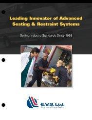 Leading Innovator of Advanced Seating & Restraint ... - EVS Ltd.