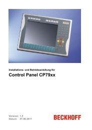 Control Panel CP79xx - download - Beckhoff