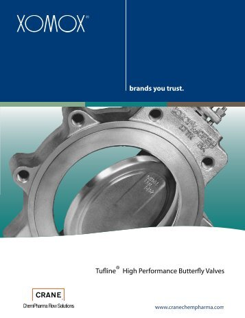 XOMOX High Performance Butterfly Valves - Corrosion Fluid Products