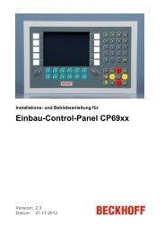 Einbau-Control-Panel CP69xx - download - Beckhoff
