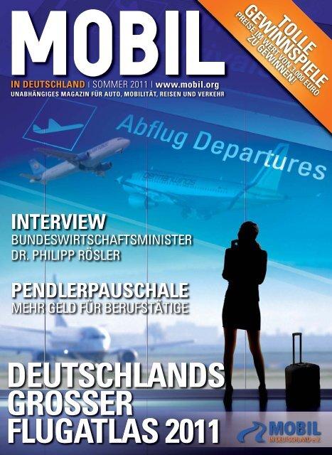 deutschlands grosser flugatlas 2011 - Mobil in Deutschland e.V.