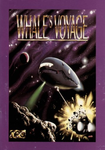 whale's voyage - Museum of Computer Adventure Game History