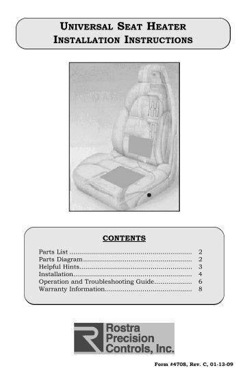W210 Front Seat Heater Wiring Diagram Pdf
